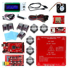 Ramps1.4 Mega2560 5pcs DRV8825 LCD2004 MK2B 3D Printer Controller Kit For RepRap