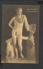Vintage Postcard: Meleagro-Dog-& Boar  Mus Vat Roma Italy unposted