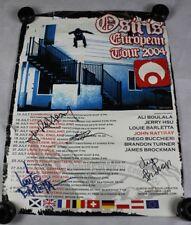 2004 Scarpe da skateboard Osiris firmato POSTER Banner