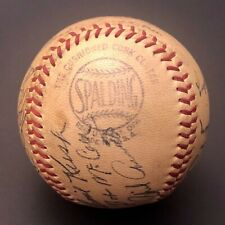 1949-51 Spalding Official League Baseball,Signed,with 13 auto's, Memorabilia