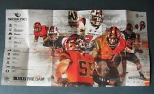 Oregon State Beavers--2017 Fall Sports Pocket/Football Poster Schedule--AT&T