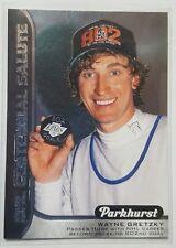 2016-17 Parkhurst NHL Centennial Salute #S-11 LA Kings Wayne Gretzky hockey card