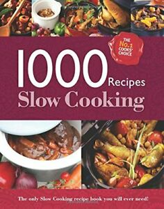1000 Recipes - Slow Cooking - Large Format Hardback Book. Phot... by Igloo Books