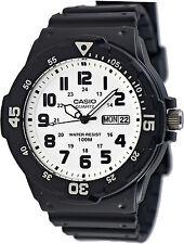 Reloj Nuevo Casio MRW-200H-7B Hombres Análoga 100m WR Día Fecha Resina