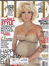 Elle Mag Britney Spears Fall Style October 2005 445 Pages 101119nonr