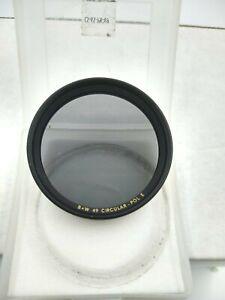 B+W 49 Thick Rim Circular - Pol E Lens Filter Circular Polarizer 49mm  Germany