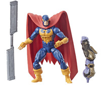 Marvels Legends Series Nighthawk BAF Thanos