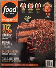 Food Network Magazine 112 Easy Recipes No Bake October 2015 FREE SHIPPING