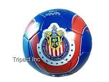 Handsewn Futbol Soccer Ball - Red - Chivas de Guadalajara Design [Misc.]