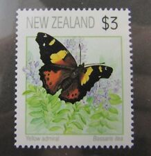 New Zealand SC #1077 YELLOW ADMIRAL BUTTERFLY MNH stamp