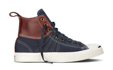 NIB $85 Converse Jack Purcell Duck Mid Navy 139771C US Mens 10.5