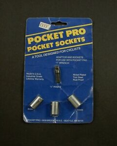 Pocket Pro Pocket Sockets For T Wrench Bicycle Tool