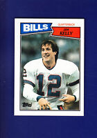 Jim Kelly RC HOF 1987 Topps NFL Football #362 (NM) Buffalo Bills
