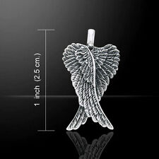 Angel Wings .925 Sterling Silver Pendant by Peter Stone Jewelry