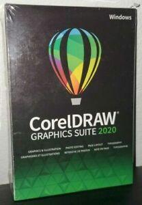 BRAND NEW CORELDRAW CDGS2020EFSTPMBC GRAPHICS SUITE 2020 FULL VERSION SOFTWARE