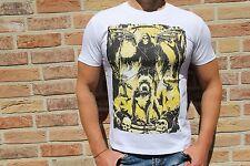 Herrenshirt Skull Totenkopf Hund Print weiß *NEU* Gr. M