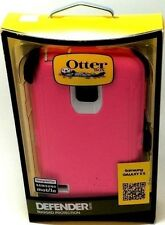 New Authentic Otterbox Defender Pink case For Samsung Galaxy S5 with Belt Clip