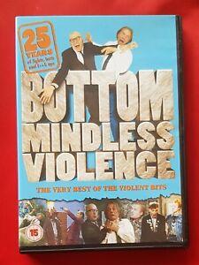 Bottom: Mindless Violence - 25 Years of The Violent Bits. Region 2 DVD