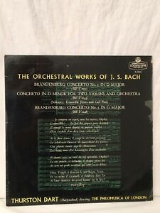 The Orchestral Works Of  J. S. Bach LP Vinyl (LP21)