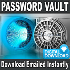 Password Vault Easy Password Manager with Encryption Software DIGITAL DOWNLOAD