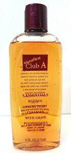 SIGNATURE CLUB A 5 Essentials Retinol Fresh Pear Cleanser /Grape Polyphenols 6oz