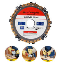 4.5'' Grinder Wood Chain Disc Fine Shaping Carving Circular Saw Blade 8Tooth