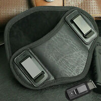 Tactical Leather Pancake Concealed Carry IWB Right Gun Holster & Magazine Pouch