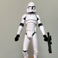 """3.75"""" Star Wars The Clone Wars No. 5 Clone Trooper Action Figure 2008 Toys"""
