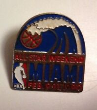 PINS ALL STAR WEEKEND MIAMI FEB. 9.11.1990