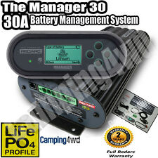 REDARC BMS1230S2 BATTERY MANAGEMENT **PERTH PICKUP** MANAGER 30 DUAL BATTERY