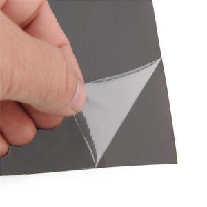 "Headlight Taillight Wrap Cover Gloss Light Black Smoke Vinyl Film Tint 60""x16"""