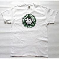 CHEEKY MONKEY BMX T-Shirt - Monkoffee Green - Mid School FREE UK POST & STICKER
