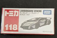 Takara Tomy Diecast Car Tomica No.118 Lamborghini Veneno Box Toy Vehicle F/S NEW