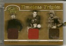 2003 Classics JIM THORPE Doak Walker RED GRANGE Relic /50