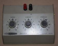 Heathkit Decade Capacitor model IN-27 capacitance box electronic design lab