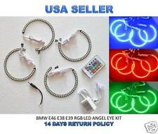 BMW 5050 SMD RGB LED ANGEL EYES KIT 3,5,7 Series E38 E39 E46 - XENON HEADLIGHT