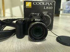 Nikon COOLPIX L810 16.1MP Digital Camera - Black