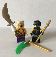Lego Lot Ninjago COLE SLEVEN MINIFIGURE #70753 Lava Falls Sleeveless Anacondrai