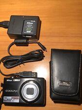 NIKON COOLPIX S630 12.0MP 2.7 Screen 7x Zoom Digital Camera - Original Box