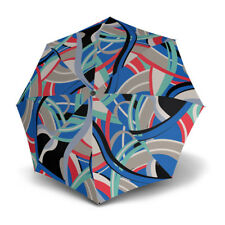 Umbrella by Knirps - T.200 Duomatic Poseidon Blue (UV Protected)