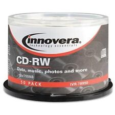 Innovera Cd Rewritable Media - Cd-rw - 12x - 700 Mb - 50 Pack Spindle - (78850)