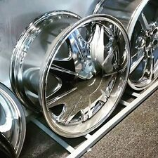 "18"" CHROME WHEELS 6/114.3  ET25 FLAT FACE STYLE FITS:NISSAN NIVARA 05<PATHFINDER"