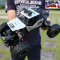 1/16 RC 28CM Monster Truck Car Off-Road Vehicle Remote Control Crawler KidsToy