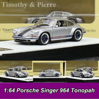 Timothy & Pierre 1:64 Porsche Singer 964 Tonopah Car Model Collection Ltd NEW