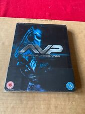 ALIEN VS PREDATOR AVP (2004) BLU RAY STEELBOOK RARE UK EDITION OOP NEW & SEALED