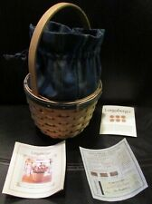 2004 Longaberger Collector Club Renewal Basket With Liner Protector EUC
