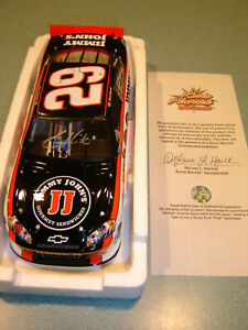 Kevin Harvick #29 Jimmy John's 2011 Chevrolet 1/24 Action AUTOGRAPHED W/COA NEW