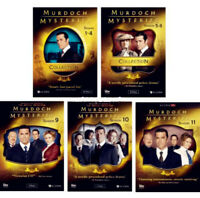 MURDOCH MYSTERIES Seasons 1-11 Complete Series DVD Season 1-4 5-8 9 10 1-10 + 11