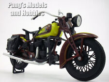 Indian Sport Scout Motorcycle 1/12 Scale Model by NewRay