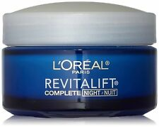L'oreal Paris Revitalift Anti Wrinkle Firming Night Cream 1.7 Fluid Oz Pack Of 2